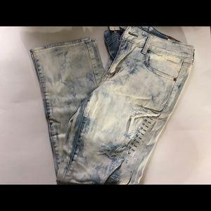 American Eagle Acid Wash Jeans